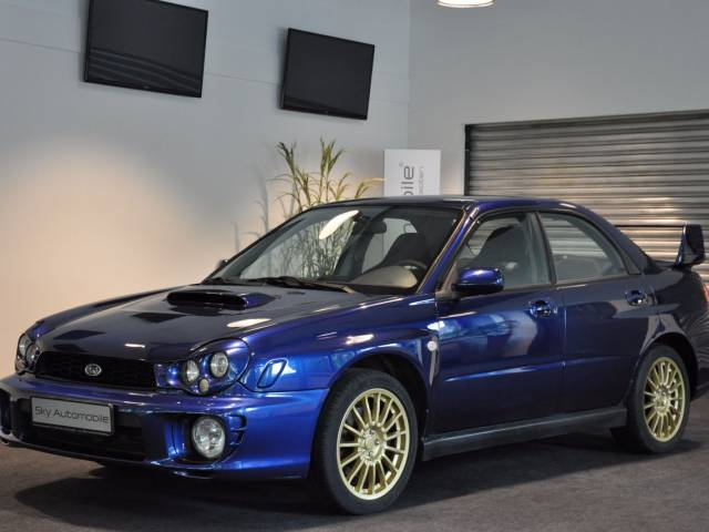 subaru impreza 2 0 wrx 2002 f r eur kaufen. Black Bedroom Furniture Sets. Home Design Ideas