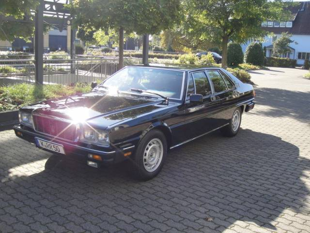 maserati quattroporte d 39 occasion de 1983 99 800 km 59 980. Black Bedroom Furniture Sets. Home Design Ideas