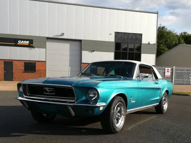 For Sale: Ford Mustang 289 (1968) offered for GBP 23,000