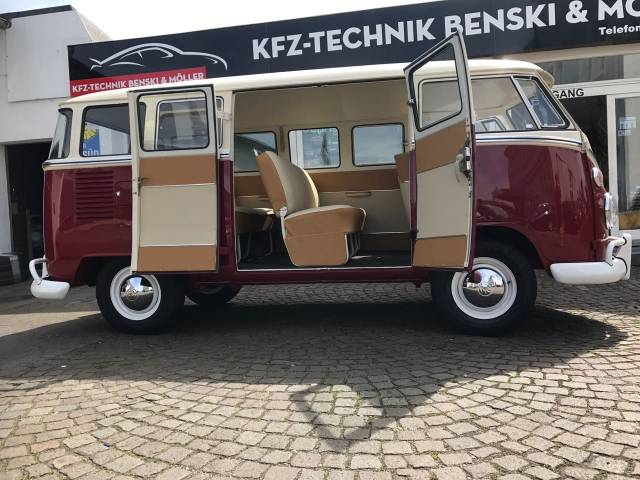 volkswagen bus d 39 occasion de 1969 2 178 km 47 500. Black Bedroom Furniture Sets. Home Design Ideas