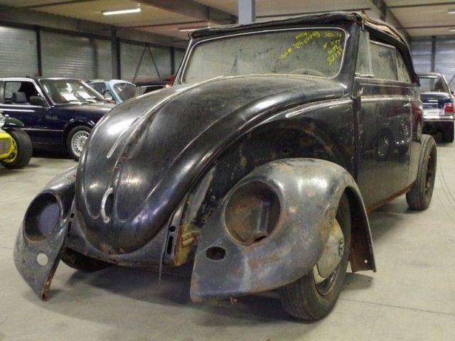 voiture volkswagen coccinelle occasion de 1954 pour 24000. Black Bedroom Furniture Sets. Home Design Ideas