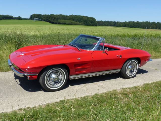 Chevrolet Corvette Sting Ray Convertible - Chevrolet Corvette Sting Ray Convertible 1964