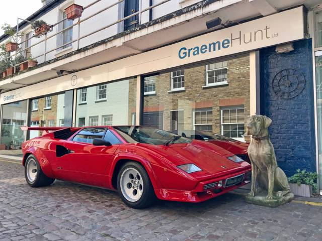 For Sale Lamborghini Countach Lp 5000 Qv 1987 Offered For Gbp 425 000