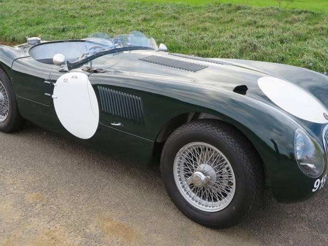 annonce jaguar type c d 39 occasion de 1952 2 500 km. Black Bedroom Furniture Sets. Home Design Ideas