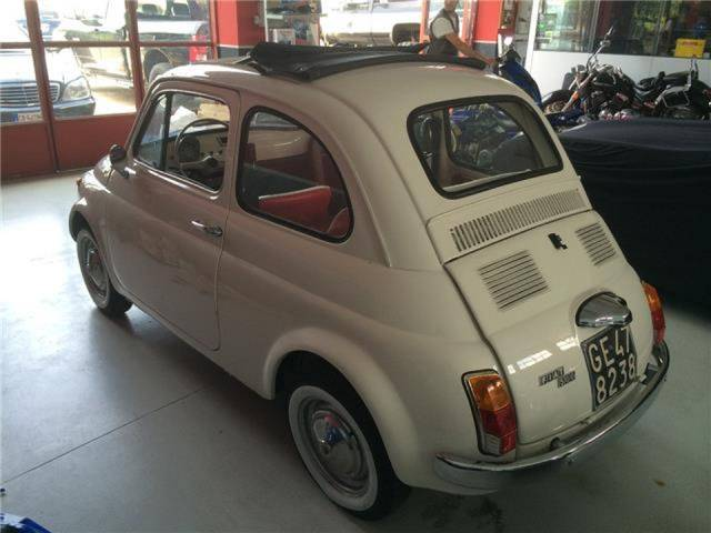 fiat 500 d 39 occasion de 1971 20 000 km 23 500. Black Bedroom Furniture Sets. Home Design Ideas
