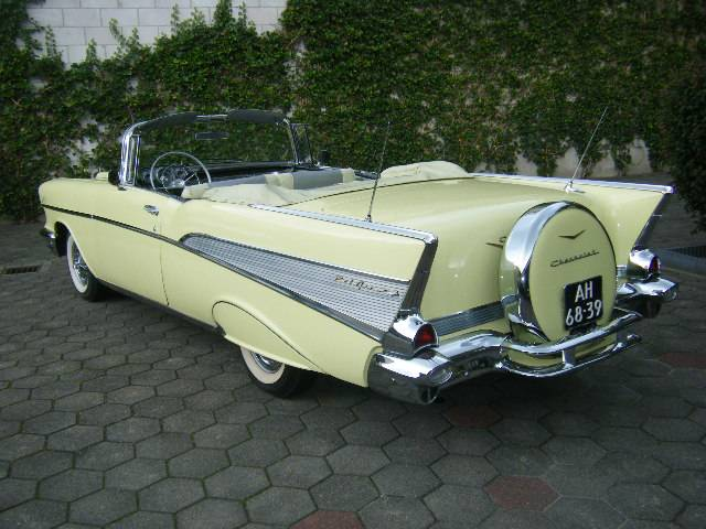 chevrolet bel air convertible 1957 f r chf 79 39 974 kaufen. Black Bedroom Furniture Sets. Home Design Ideas