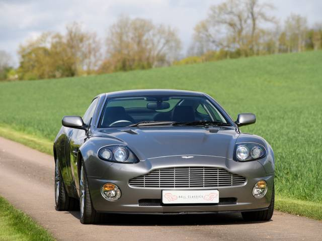For Sale Aston Martin V Vanquish Offered For GBP - 2001 aston martin vanquish