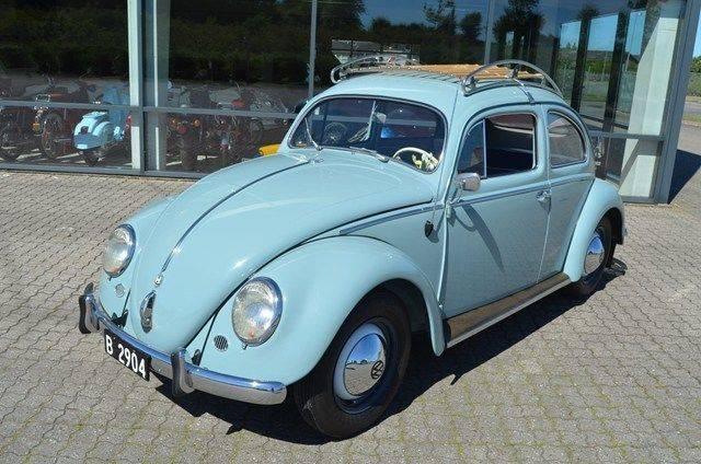 Volkswagen Coccinelle 1200 Export