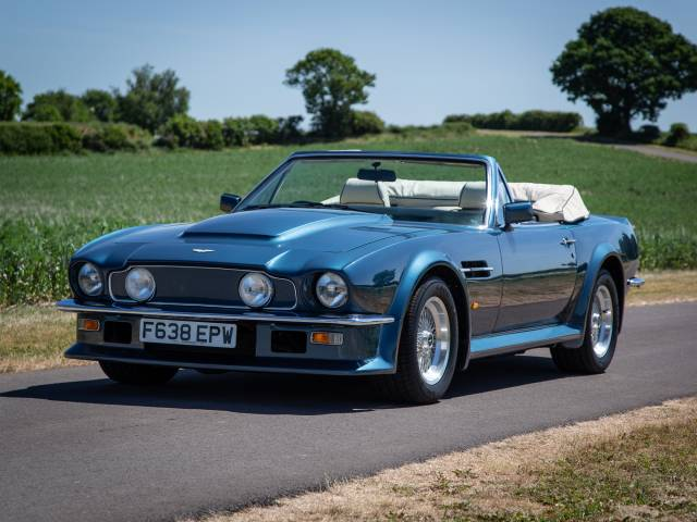 Aston Martin V8 Vantage Volante 1989 For Sale Classic Trader