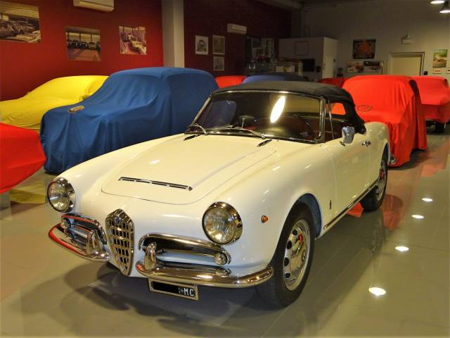 alfa romeo giulia 1600 spider 1965 kaufen classic trader. Black Bedroom Furniture Sets. Home Design Ideas