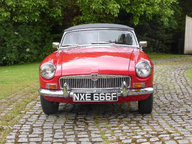 For Sale: MG MGB (1967) offered for GBP 21,950