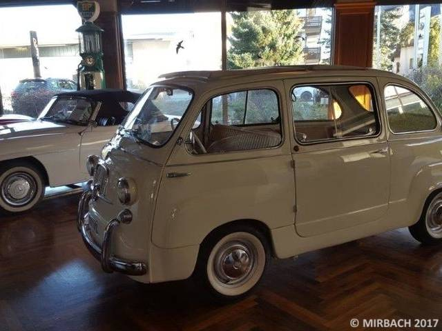 fiat 600 d multipla 1965 kaufen classic trader. Black Bedroom Furniture Sets. Home Design Ideas