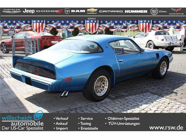 pontiac firebird turbo transam 1980 f r eur kaufen. Black Bedroom Furniture Sets. Home Design Ideas