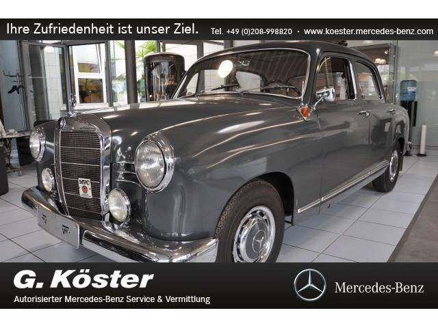 Mercedes Benz 180 C 1961 Für 49900 Eur Kaufen