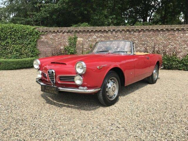 for sale alfa romeo 2600 spider 1963 offered for gbp. Black Bedroom Furniture Sets. Home Design Ideas