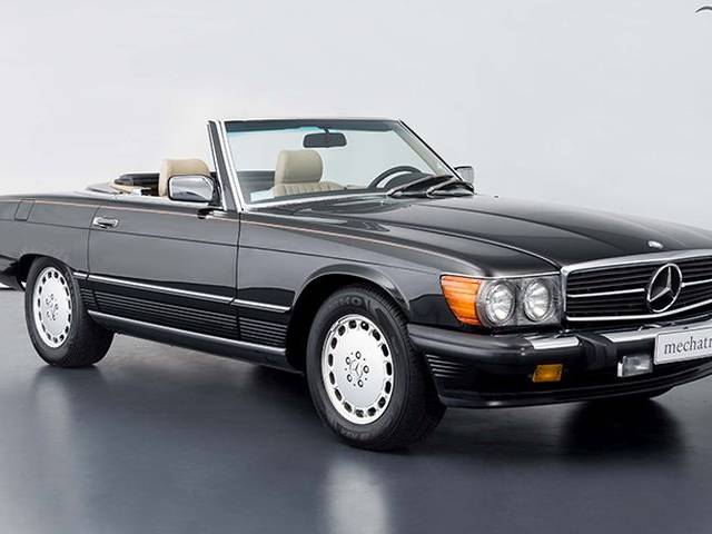 mercedes benz 560 sl 1989 f r eur kaufen. Black Bedroom Furniture Sets. Home Design Ideas