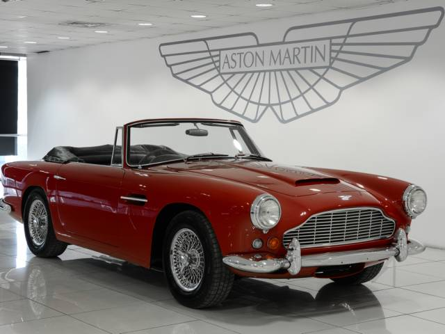 For Sale Aston Martin DB Convertible Offered For GBP - Aston martin convertible for sale