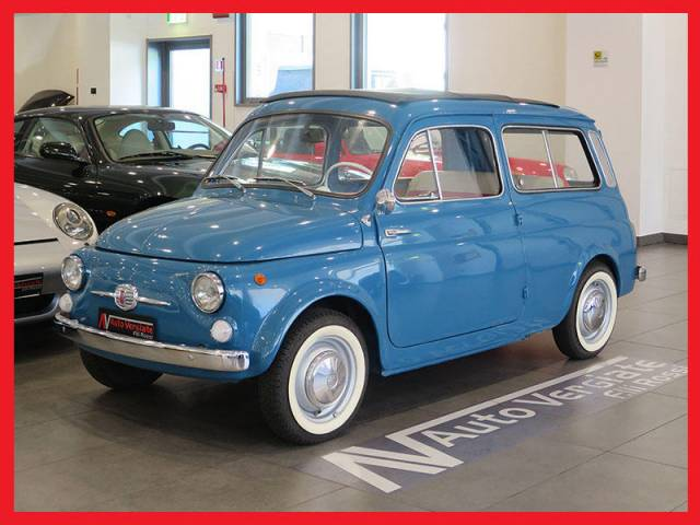 For Sale Fiat 500 Giardiniera 1966 Offered For Gbp 11 604