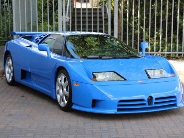 bugatti eb 110 ss (1994) for sale - classic trader