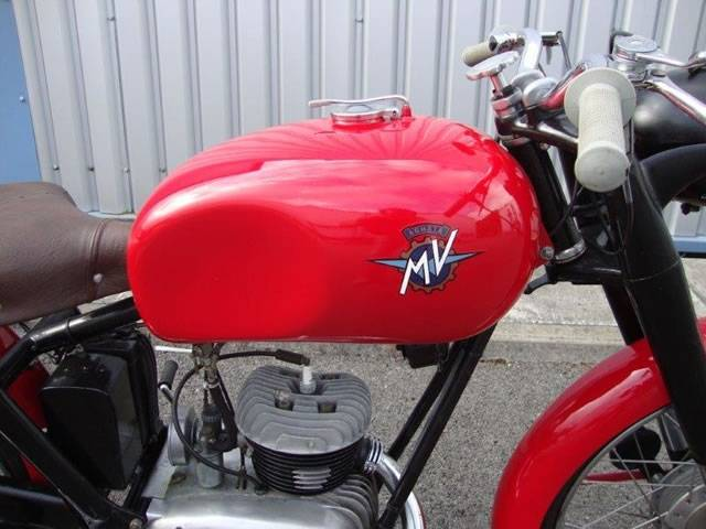 for sale: mv agusta 125 tel (1953) offered for gbp 12,950