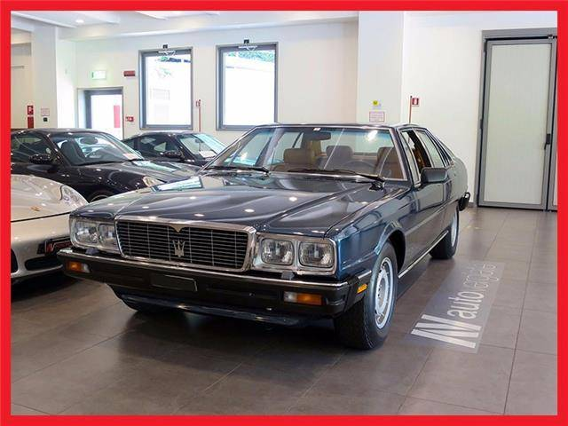 maserati quattroporte d 39 occasion de 1980 15 600 km 55 000. Black Bedroom Furniture Sets. Home Design Ideas