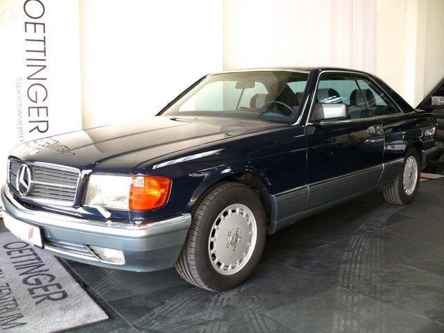 Used mercedes benz sec of 1986 88 500 km at 25 900 for Mercedes benz worldwide sales figures