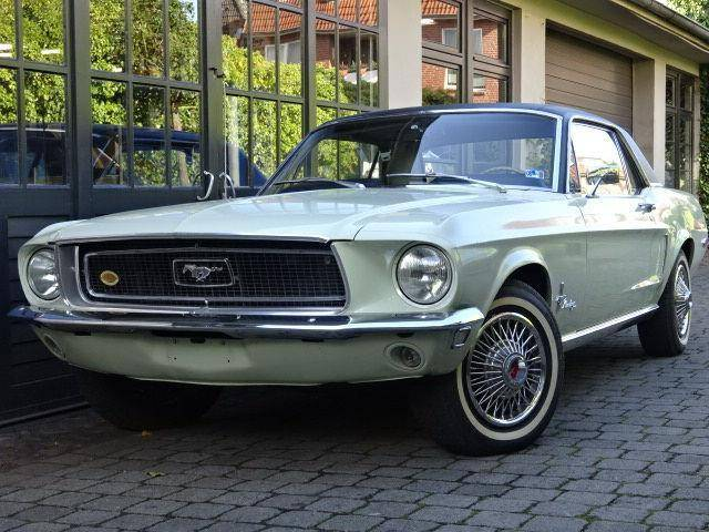 ford mustang d 39 occasion de 1968 48 756 km 33 900. Black Bedroom Furniture Sets. Home Design Ideas