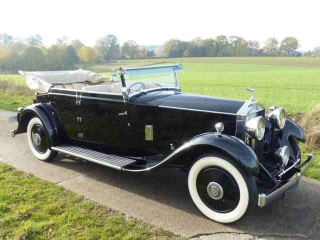 Rolls-Royce 20/25 HP - Rolls-Royce 20/25 HP All-Weather Cabriolet 1932