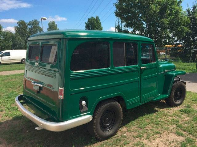 willys overland jeep d 39 occasion de 1953 92 266 km 9 900. Black Bedroom Furniture Sets. Home Design Ideas