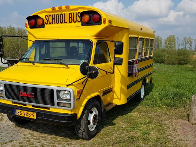 Gmc Vandura School Bus 1993 Fur Chf 17 769 Kaufen