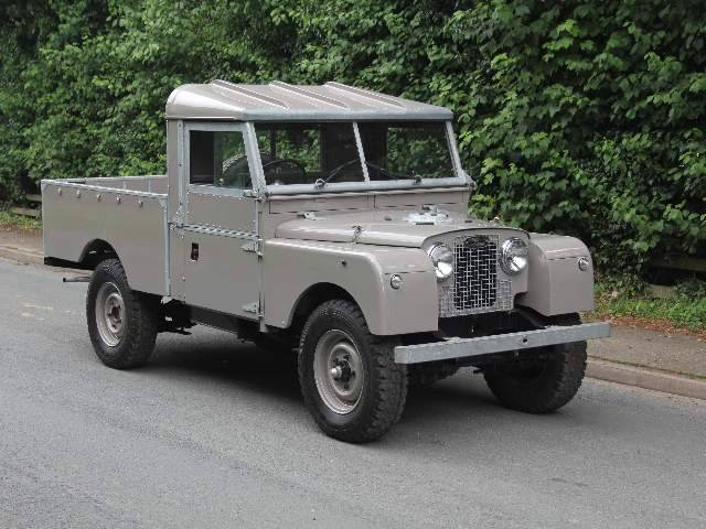 For Sale: Land Rover 107 (1955) offered for GBP 29,995