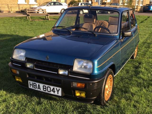 For sale renault r 5 alpine turbo 1983 offered for gbp 14 999 - Renault 5 alpine turbo coupe ...