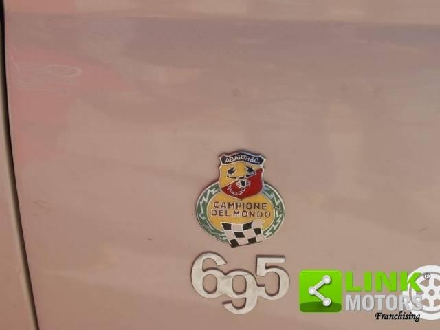 FIAT 500 ABARTH 695 SCRITTA WRITTEN BADGE  CRUSCOTTO