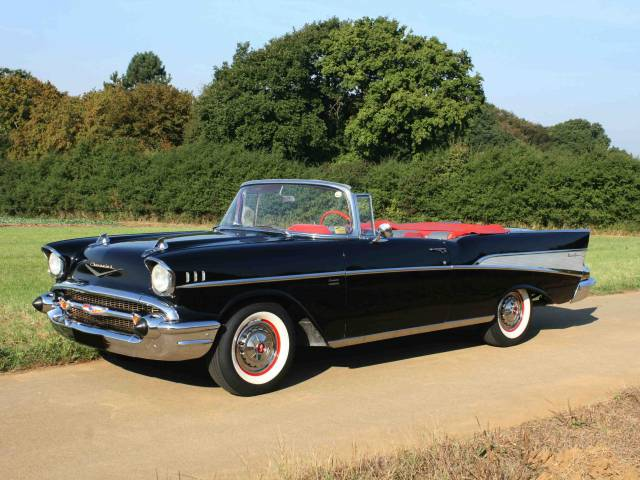 chevrolet bel air convertible 1957 f r chf 97 39 070 kaufen. Black Bedroom Furniture Sets. Home Design Ideas