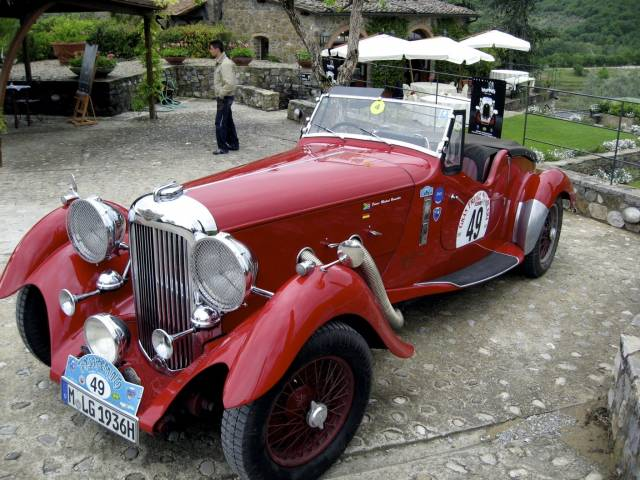 Lagonda 4,5 Liter LG 45 Rapide - My Lagonda has already seen th