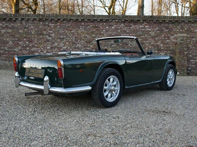 For Sale Triumph Tr 4 1965 Offered For Aud 49751