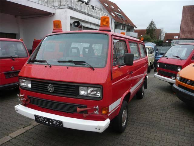 volkswagen t3 transporter syncro 2 1 g kat 1989 f r 12. Black Bedroom Furniture Sets. Home Design Ideas