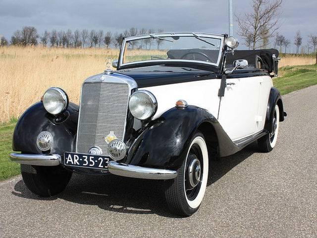 mercedes benz 170 v cabriolet b 1938 kaufen classic trader. Black Bedroom Furniture Sets. Home Design Ideas