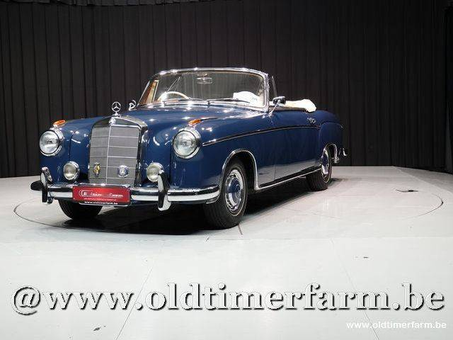 Mercedes benz 220 se cabriolet 1960 en vente pour 95 950 eur for Mercedes benz 950