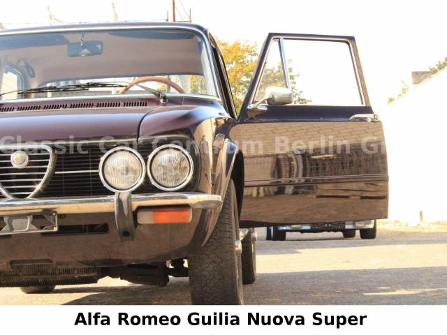 alfa romeo giulia nuova super 1300 1977 f r eur kaufen. Black Bedroom Furniture Sets. Home Design Ideas