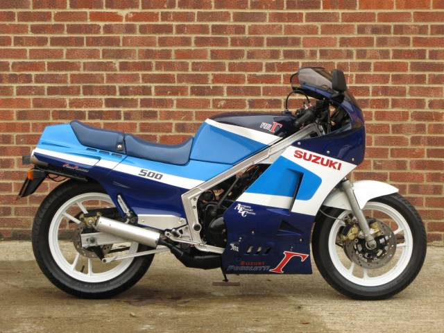 for sale suzuki rg 500 gamma 1986 offered for gbp 17 995. Black Bedroom Furniture Sets. Home Design Ideas