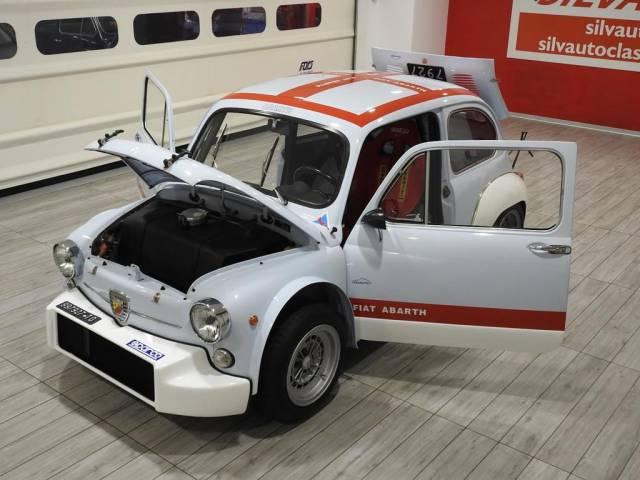 Fiat Abarth 1000 TCR Wanduhr Wallclock Oldtimer Youngtimer Motorsport