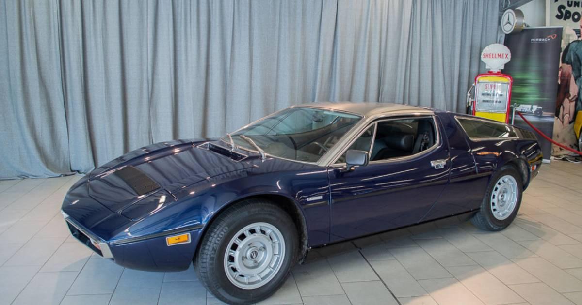 Maserati Bora 4900 (1977) kaufen - Classic Trader