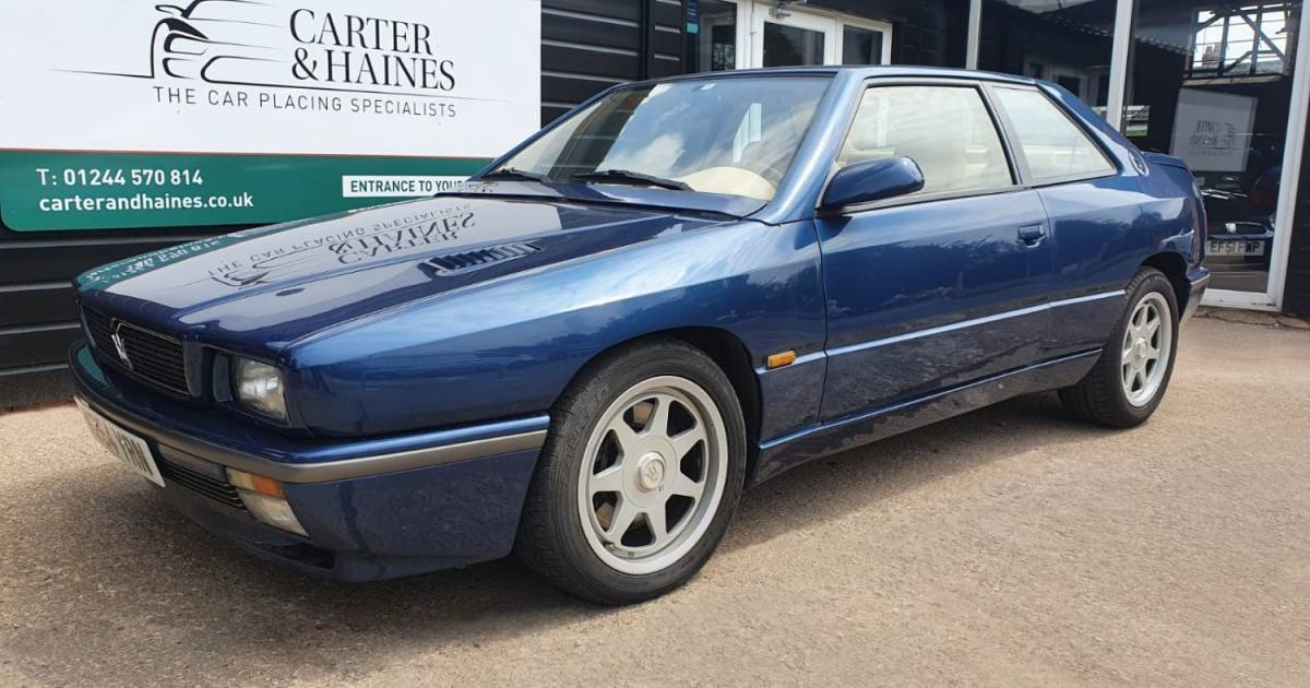 For Sale: Maserati Ghibli 2.8 (1995) offered for AUD 27,177