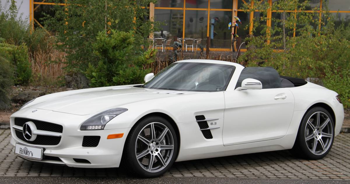 mercedes benz sls amg roadster 2011 f r eur kaufen. Black Bedroom Furniture Sets. Home Design Ideas