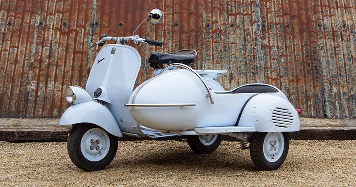 For Sale: Piaggio Vespa 125 (1955) offered for GBP 13,950