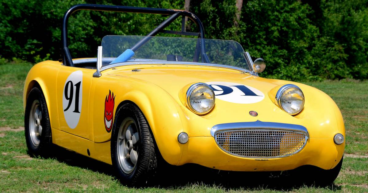 austin healey sprite mk i 1959 en vente pour 13 500 eur. Black Bedroom Furniture Sets. Home Design Ideas