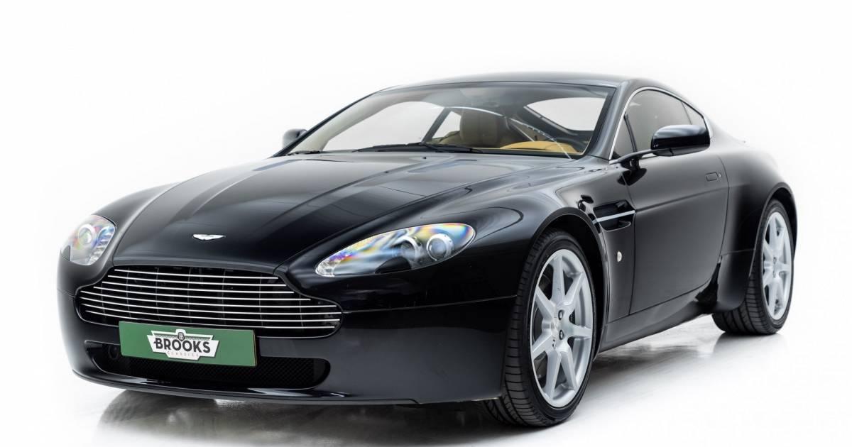 Aston Martin V8 Vantage 2009 Für 62 800 Eur Kaufen