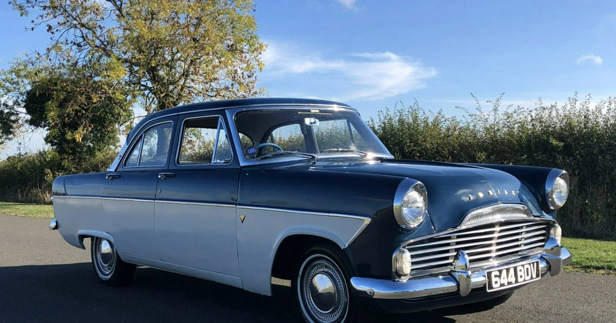 For Sale Ford Zodiac 1959 Offered GBP 10995