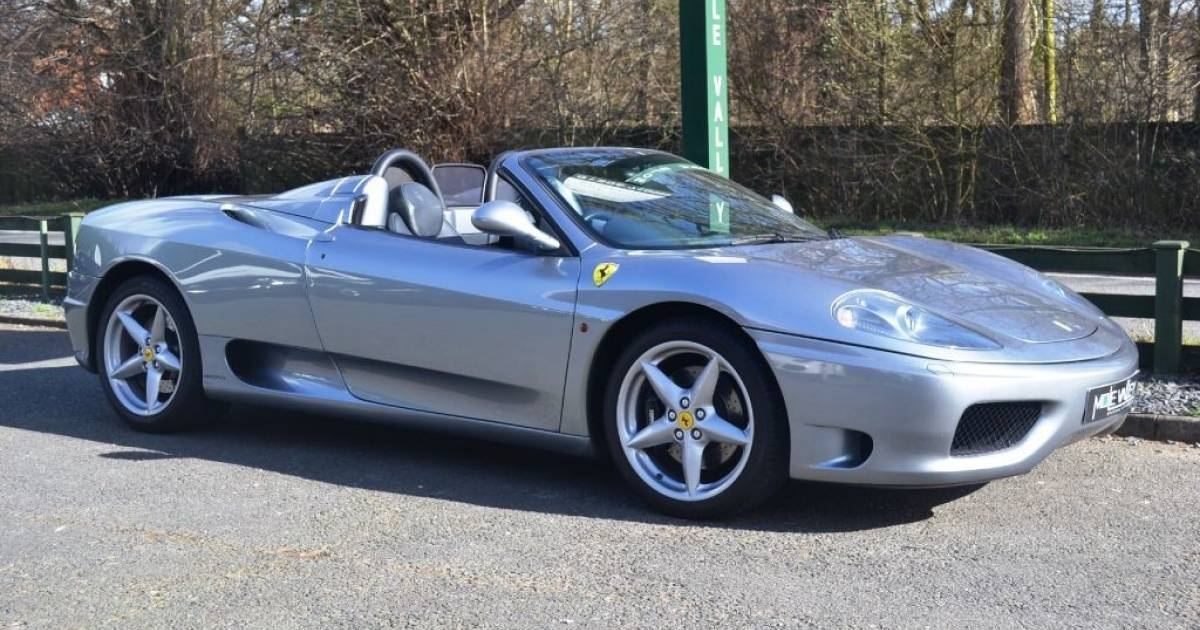 For Sale Ferrari 360 Spider 2004 Offered For Gbp 69 995